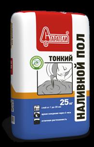 Наливной пол Тонкий Старатели, 25 кг