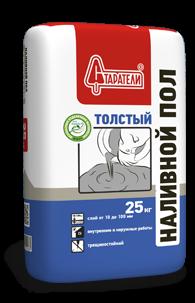 Наливной пол Толстый Старатели, 25 кг