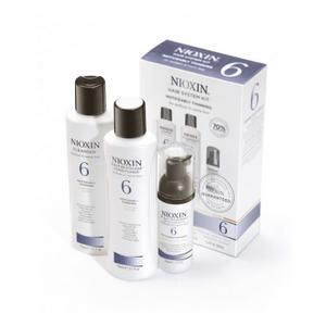 """Набор """"Система 6"""" для средних и жестких окрашенных или натуральных заметно редеющих волос, 1 шт. (Nioxin)"""