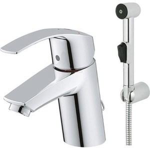 Смеситель с гигиеническим душем Grohe Eurosmart хром (23124002)