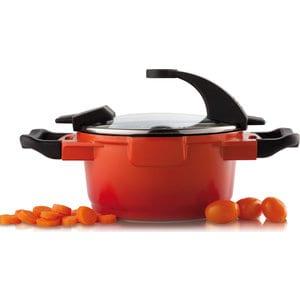 Кастрюля с крышкой 16 см 1.5 л BergHOFF Virgo Orange (2304900)