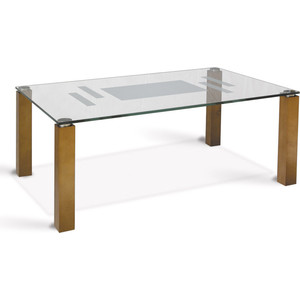 Стол журнальный Мебелик Робер 10Д средне-коричневый