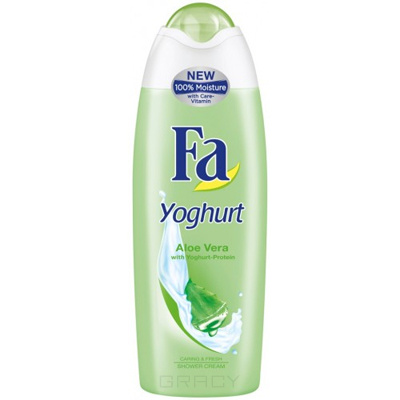 Fa, Крем-гель для душа Yoghurt Алоэ Вера  , 250 мл