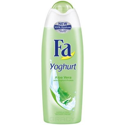 Fa, Крем-гель для душа Yoghurt Алоэ Вера  , 750 мл