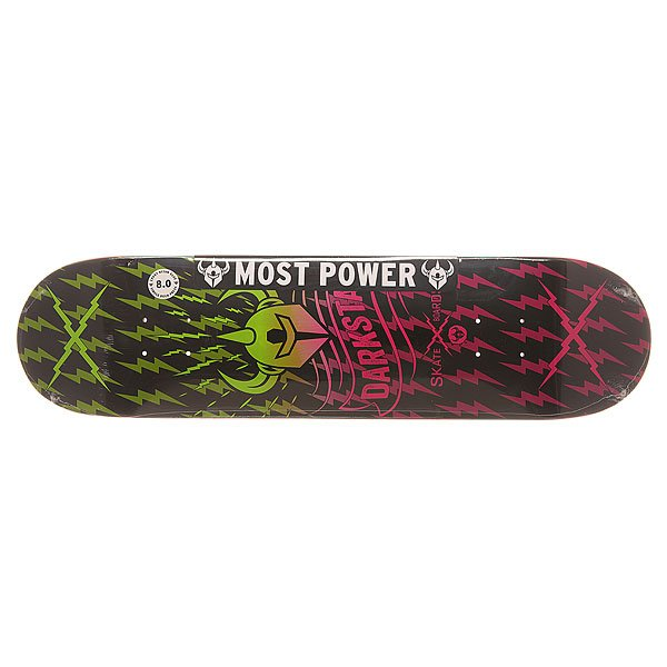 Дека для скейтборда для скейтборда Darkstar S6 Axis Pink Fade 31.6 x 8 (20.3 см)