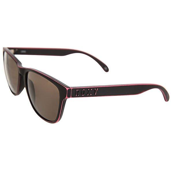 Очки женские Roxy Uma Matte Black Worn Pink