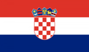 На автомобиль Наклейка «Хорватия»
