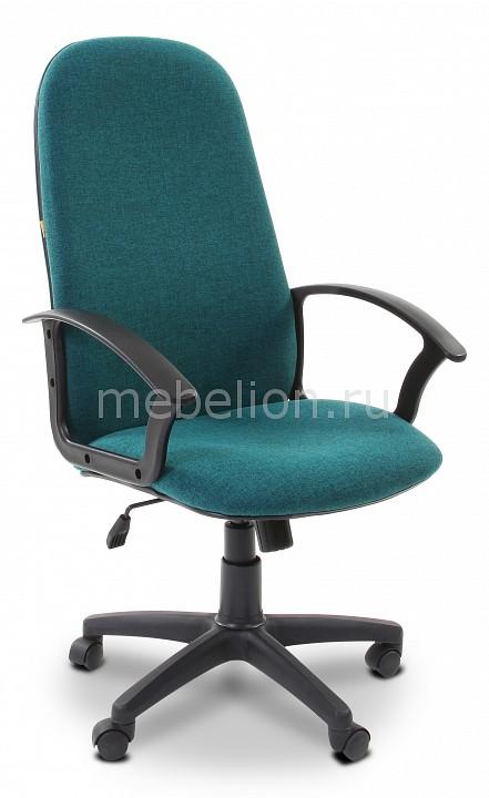 Кресло компьютерное Chairman 289 зеленый/черный