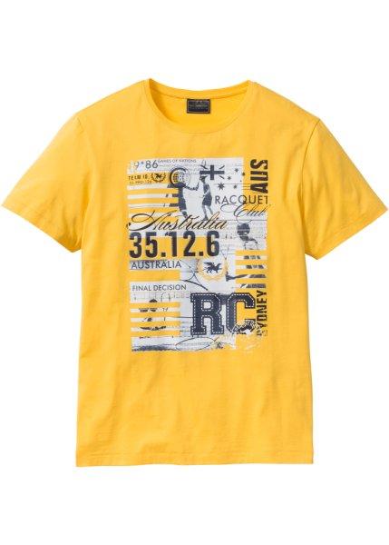 Футболка Regular Fit (ярко-желтый)