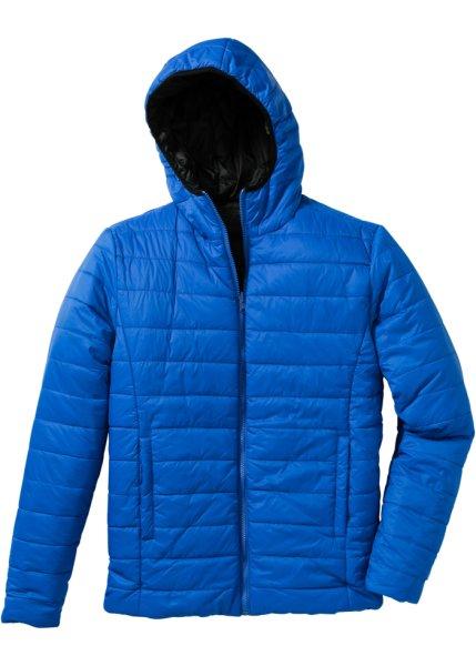 Двухсторонняя куртка Regular Fit (черный/лазурный)