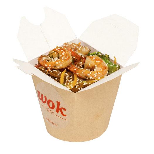 Рис с креветками (-соус сливочно-устричный)