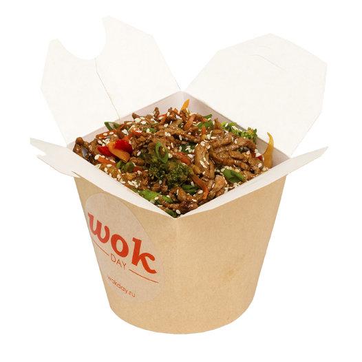 Рис с говядиной (-соус кисло-сладкий)