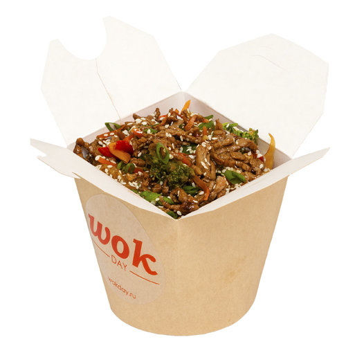 Рис с говядиной (-соус карри)
