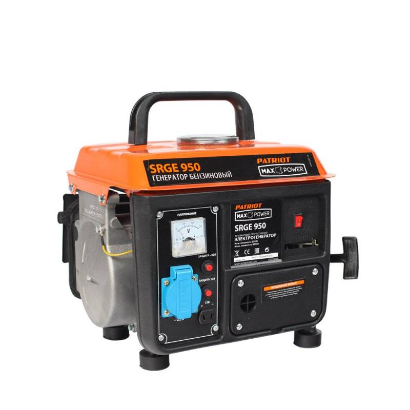Генератор бензиновый PATRIOT SRGE 950