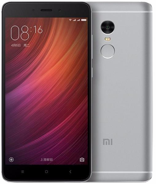 Телефон Xiaomi Redmi Note 4 64Gb (Темно-серый)