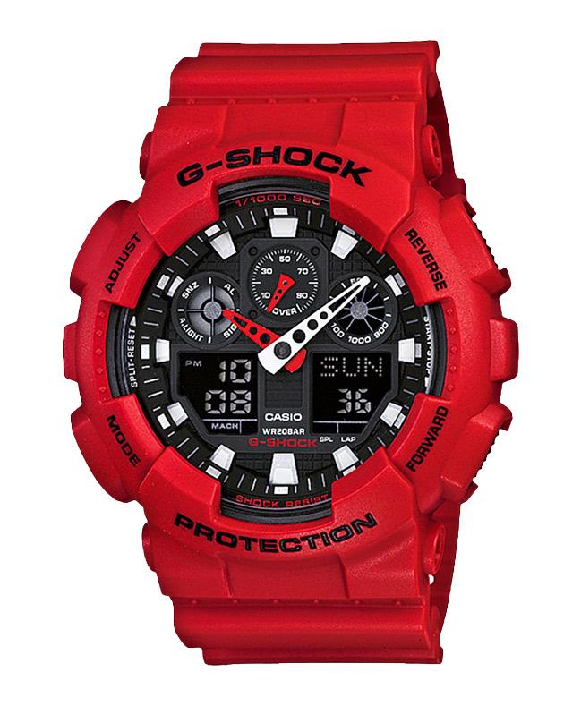 Часы CASIO GA-100B-4A