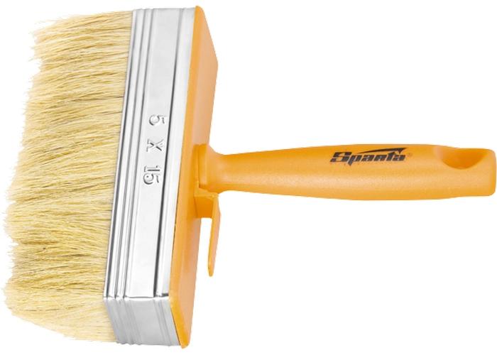 Кисть-макловица, 50х150 мм, натуральная щетина, пластмассовый корпус, пластмассовая ручка Sparta 841055