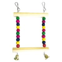 ТМ Green Farm Игрушка для мелких попугаев «Подвес разноцветный малый» арт. 161.090