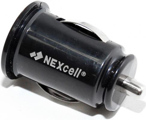 Автомобильное зарядное устройство Nexcell CC22A-101 2 х USB 2.1A черный