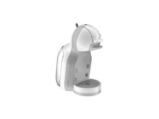 Кофемашина Krups KP120110 Mini Me 1500Вт 0.8л капсульная бело-серый