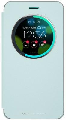Чехол Asus для Asus ZenFone ZE552KL View Flip Cover голубой 90AC0160-BCV012