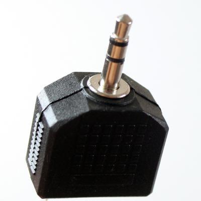 Переходник Vcom 3.5 Jack (M) - 2x3.5 Jack (F) VAD7847