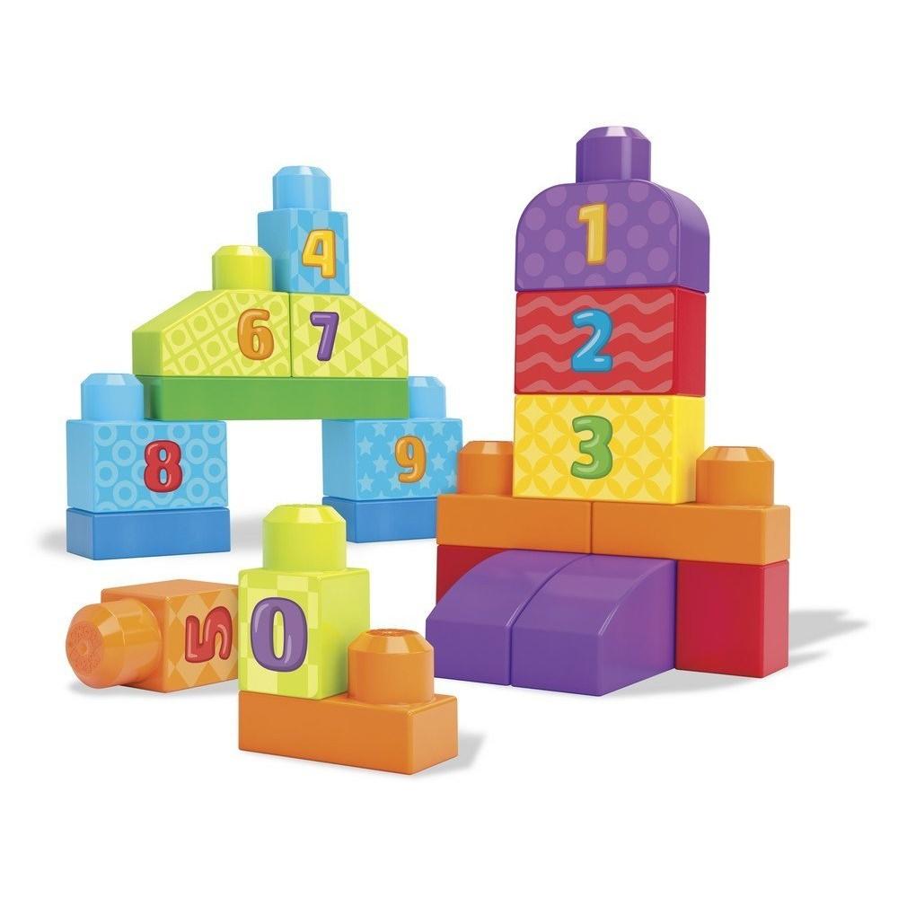Конструктор Mega Bloks Строй и учись «Учимся считать»
