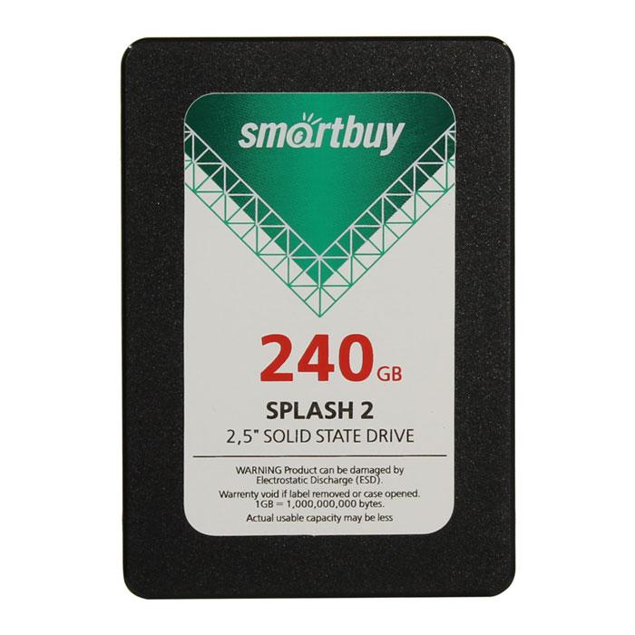 Внутренний SSD-накопитель 240Gb Smartbuy Splash 2 SB240GB-SPLH2-25SAT3 SATA3 2.5