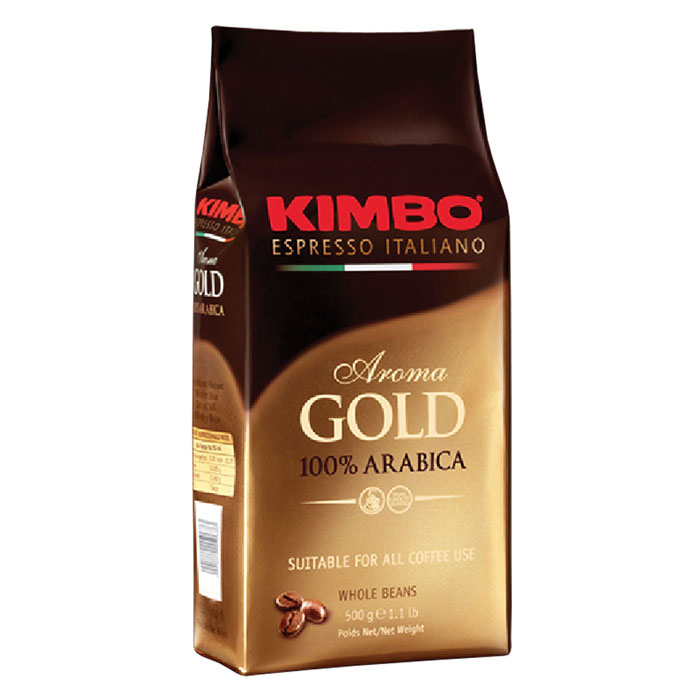 Кофе в зернах Kimbo Aroma Gold 100% Arabica 500 г