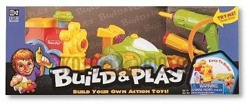 ИгровойнаборKeenwaybuildnplay-машина+паровозиквкоробке