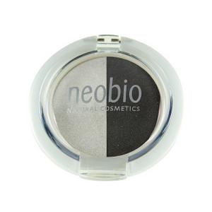 Двойные тени для век, 03 туманная ночь, 2,5 г (NeoBio)
